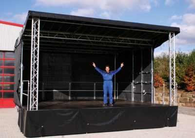 7m by 6m Trailer Stage