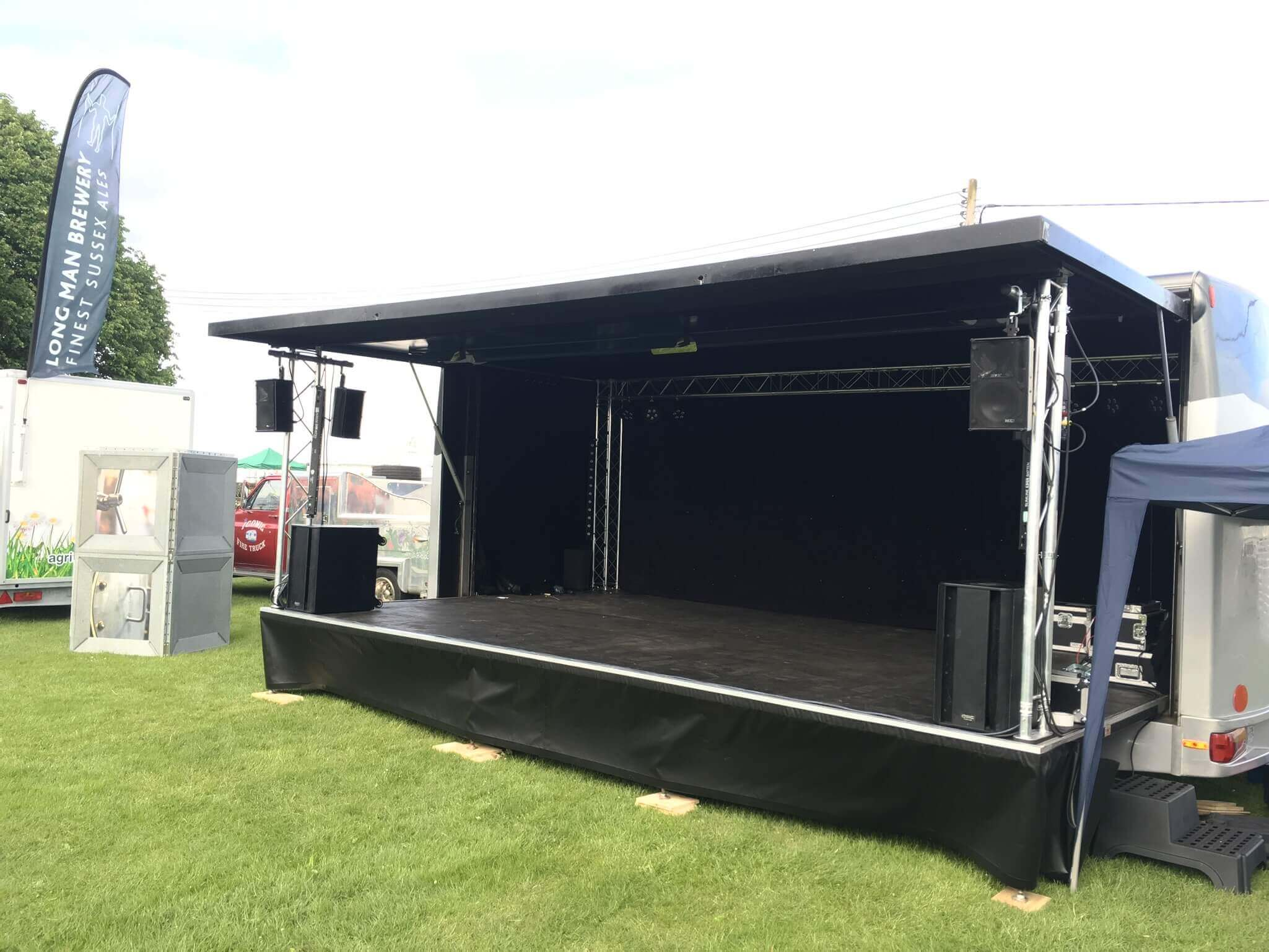 Kent Trailer Stage Hire